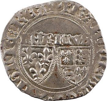 Henri VI, blanc aux écus (sans abréviation), Châlons-en-Champagne