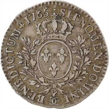 Louis XV, demi-écu au bandeau, 1765 Besançon