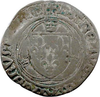 Charles VIII, blanc à la couronne, Châlons-en-Champagne