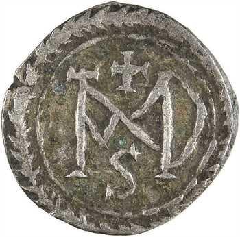 Justinien Ier, demi-silique, Carthage, 537-552