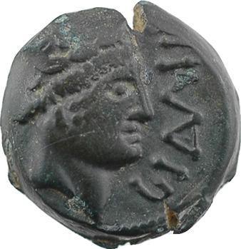 Carnutes, bronze romanisé de GIAMILOS, c.52 av. J.-C.