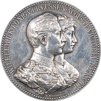 Allemagne, Prusse-Brandebourg, Guillaume II, cadeau pour les noces d'or, s.d
