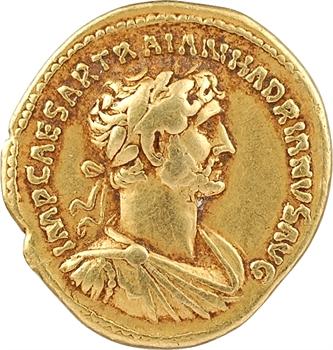 Hadrien, aureus, Rome, 118