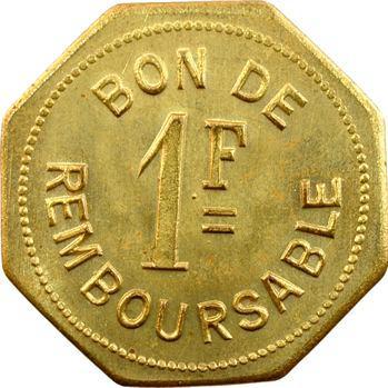 Comores, Société anonyme de la Grande Comore, essai de 1 franc, s.d. (1915)