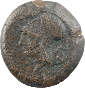 Sicile, Syracuse, époque de Timoléon, litra de bronze, c.344-336 av. J.-C