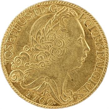 Brésil, Joseph Ier, 6.400 reis ou demi Johanna, 1769 Rio