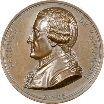 Jacques de Vaucanson, par Pingret, 1820 Paris