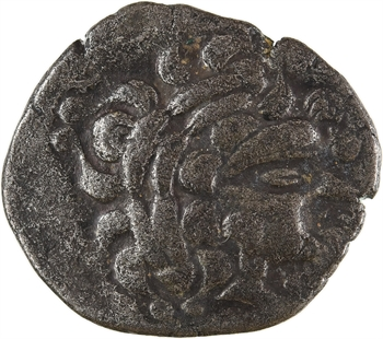 Redones, statère de billon au profil imberbe, c.100-50 av. J.-C.