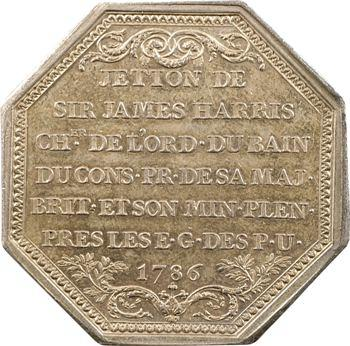 Pays-Bas, sir James Harris, ministre plénipotentiaire, 1786