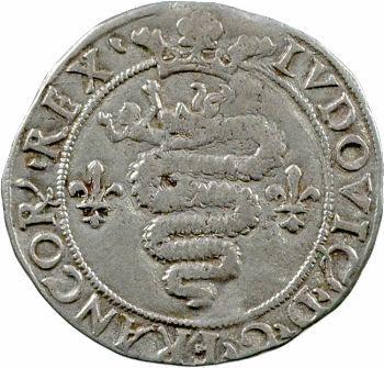 Louis XII, gros royal de trois sous dit Bissone, Milan