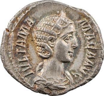 Julia Mamée, denier, Rome, 227