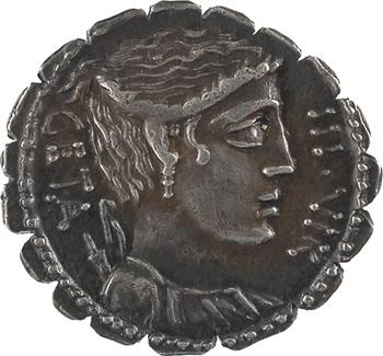 Hosidia, denier, Rome, 68 av. J.-C.