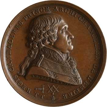 Premier Empire, Cambacérès, grand-maître de la Loge écossaise de France, 1807 Paris