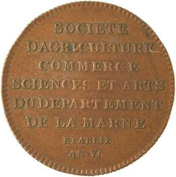 Marne et Châlons-en-Champagne, société d'agriculture, commerce, An VI