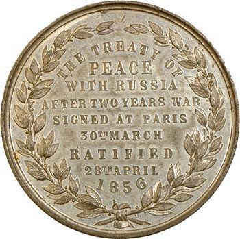 Royaume-Uni, Paix avec la Russie, 30 mars et 28 avril 1856 à Paris