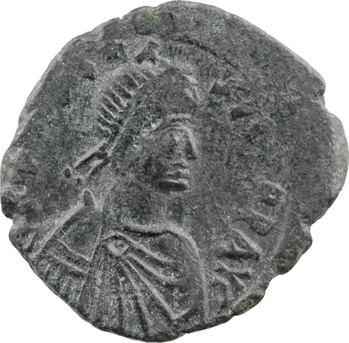Anastase, follis, Constantinople, 3e officine, 491-518