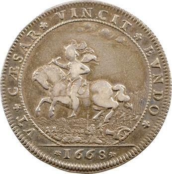 Normandie, Rouen (ville de), Guerre de dévolution contre l'Espagne, 1668