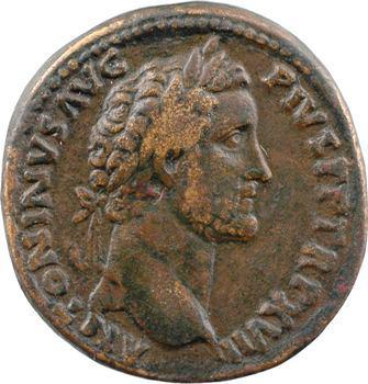 Antonin le Pieux, sesterce, Rome, 154-155