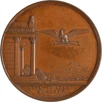 Royaume-Uni/ Premier Empire, le retour de Napoléon et le Congrès de Vienne, 1815
