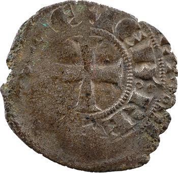 Aquitaine (duché d'), Édouard III, gros à la couronne, s.d. (1347-1351)