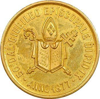 Vatican, Pie IX, Jubilé, 1877 Rome