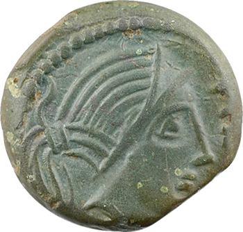 Carnutes, bronze PIXTILOS à l'oiseau, classe III, c.40-30 av. J.-C.