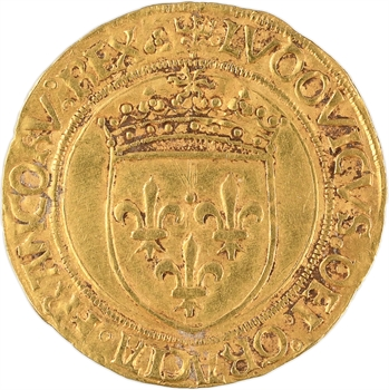 Louis XII, écu d'or au soleil, Lyon