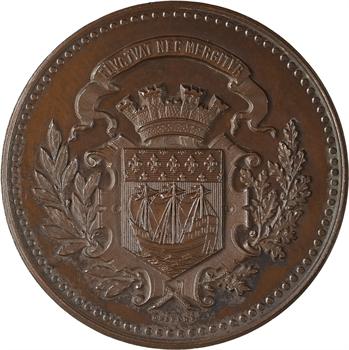 IIIe République, Paris, bureau de bienfaisance du 1er arrondissement, 1875 Paris