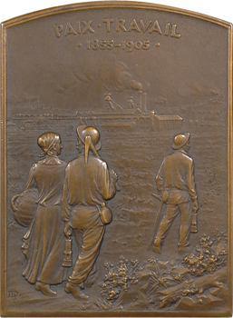 IIIe République, cinquantenaire des Mines de Bruay, 1855-1905 Paris