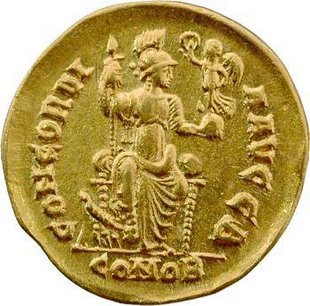Arcadius, solidus, Constantinople, 397-402