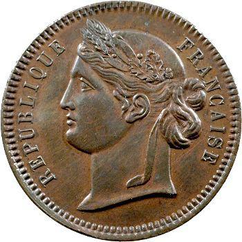 IIe République, essai de 10 centimes par Reynaud, 1848 Paris