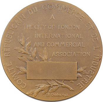 Royaume-Uni/France, Association Commerciale Internationale (Comité Républicain du Commerce et de l'Industrie), 1903 Paris
