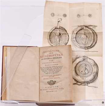 Mieris (van) (F.), Beschryving bisschoplyke munten en zegelen Utrecht, Arnhem 1752