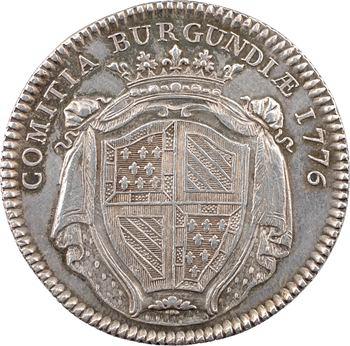 Bourgogne (États de), par Duvivier, 1776 Paris