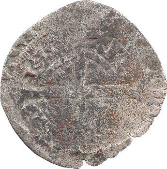 Aquitaine (duché d'), Édouard III, gros ou blanc au léopard passant, s.d. (c.1351)