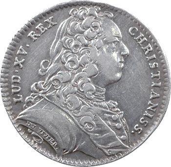 Louis XV, parties et revenus casuels, 1736 Paris