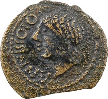Centre-Ouest (incertaines), Pictons ou Santons, bronze ou quadrans ANNICCOIOS, c.40 av. J.-C