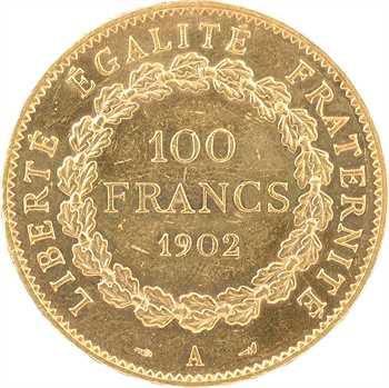 IIIe République, 100 francs Génie, 1902 Paris