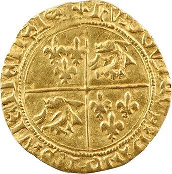 Dauphiné, Viennois (dauphins du), Louis II dauphin, écu d'or, 2e émission, s.d. (après 1447) Romans