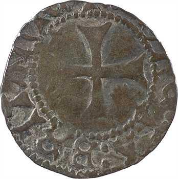 Bretagne (duché de), François Ier, double à l'hermine, s.d. Rennes
