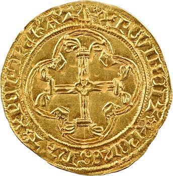 Louis XI, écu d'or à la couronne, 1re émission, Bordeaux
