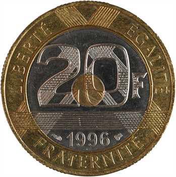 Ve République, 20 francs Mont Saint Michel, 1996 Pessac