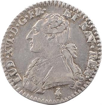 Louis XVI, dixième d'écu aux branches d'olivier, 1783, 1er semestre, Paris