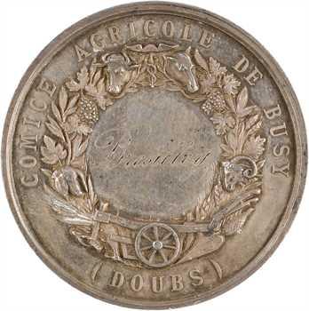 Second Empire, Comice agricole de Busy, par Brenet, 1865
