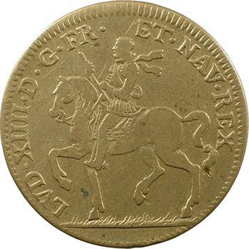 Lorraine, Louis XIV, type à l'écu de France-Navarre, s.d.
