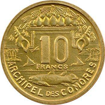 Comores, essai de 10 francs, 1964 Paris