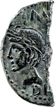 Nîmes, Auguste et Agrippa, as coupé, Nîmes, c. 9-3 av. J.-C.