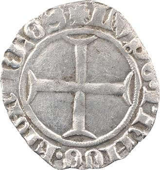 Dauphiné, Viennois (dauphins du), Louis Ier, quart de gros, s.d. Mirabel