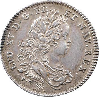 Louis XV, jeton à l'effigie du Régent Philippe d'Orléans