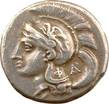 Lucanie, didrachme, Vélia, c.280 av. J.-C.